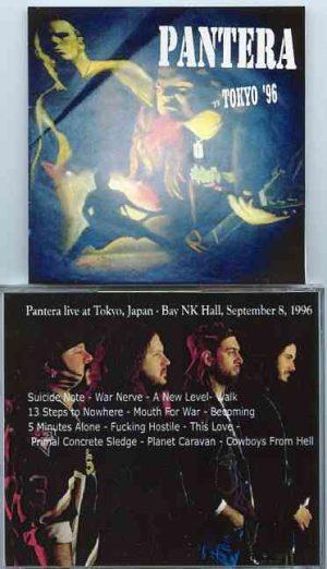 Pantera - Tokyo '96 ( Bay NK Hall , Tokyo , Japan , September 8th , 1996 )