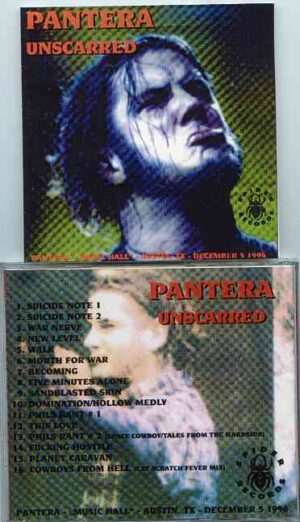 Pantera - Unscarred ( Austin , Texas , USA , December 5th , 1996 )