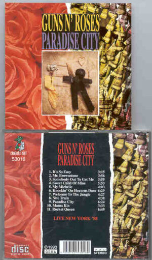 Guns N' Roses - Paradise City ( Live In New York 1988 )