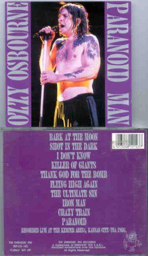 Black Sabbath - Paranoid Man ( Swingin' Pig )( Ozzy Osbourne Live At The Kemper Arena , Kansas City , USA , 1986 )