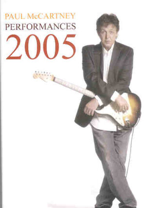 DVD Paul McCartney - Performances 2005