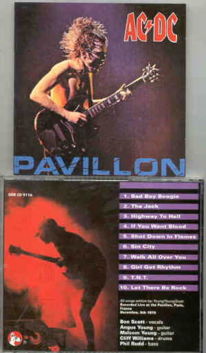 Ac-Dc - Pavillion ( Live at The Pavillion , Paris , France , December 9th , 1991 ) ( Great Dane )