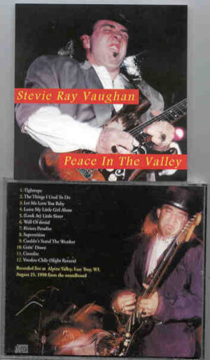 Stevie Ray Vaughan - Peace In The Valley ( Soundboard from Alpine Valley , Peace Troy , WI , August 25th , 1990 )