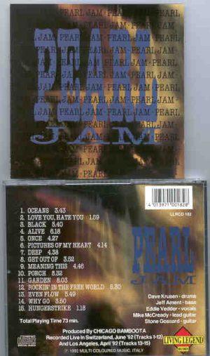 Pearl Jam - Pearl ( Living Legend ) ( Live in Switzerland , June 1992 )