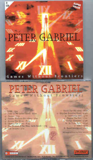 P. Gabriel / GENESIS / P. Collins - Games Without Frontiers ( On Stage Recs ) ( 2 CD!!!!! SET )