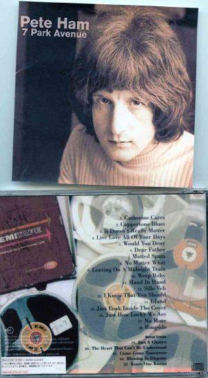 Badfinger - 7 Park Avenue ( Pete Ham original album on CD )
