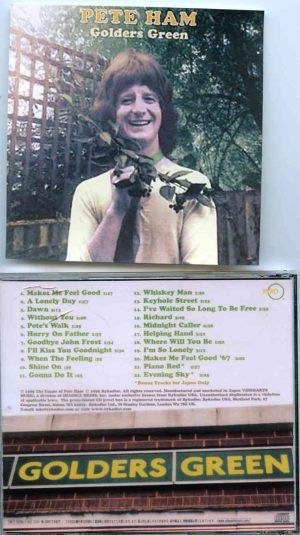 Badfinger - Golders Green  ( Pete Ham Original Album on CD )