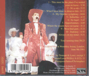 Pet Shop Boys - Live Wires  ( KTS )  ( Live at Wembley Arena , London , June 9th , 1991 )