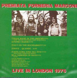 Premiata Forneria Marconi -  Live In London 1976