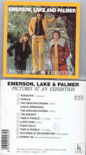 Emerson , Lake & Palmer - Pictures At An Exhibition ( Denver , USA , August 3rd , 1972 ) ( Oil Well )