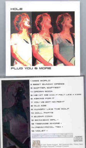 Nirvana - HOLE  Plug You & More ( MTV Unplugged 1995 )