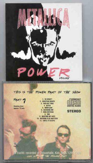 Metallica - Power ( Live at Ostseehalle , Kiel , September 12th , 1996 )