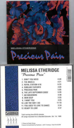 Melissa Etheridge - Precious Pain ( Flashback ) ( Live in Boulder , Colorado , USA , October 1st , 1989 )