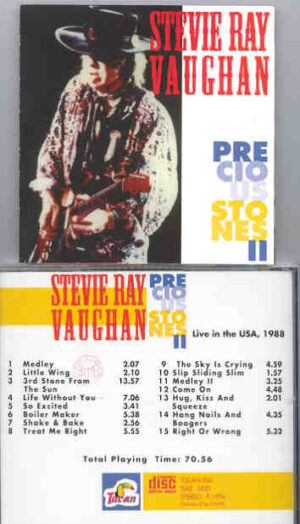 Stevie Ray Vaughan - Precious Stones ( Live In USA 1988 )