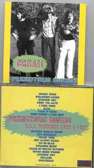Jack Bruce - Prehistoric Sound ( CREAM ) ( Silver Rarities )