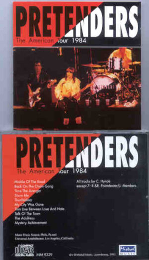 The Pretenders - The American Tour 1984 ( Mistral )