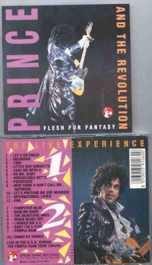 Prince - Flesh For Fantasy  ( 2 CD!!!!! set )  ( Great Dane Recs. )