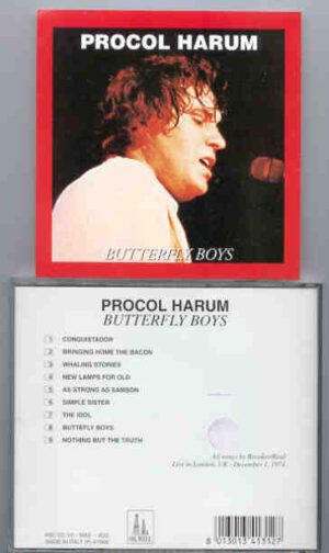 Procol Harum - Butterfly Boys  ( Oil Well )