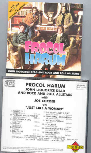 Procol Harum - John Liquorice Dead & Rock 'N Roll All Stars Band ( Living Legend )