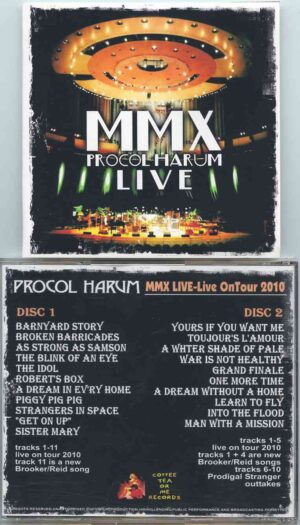 Procol Harum - MMX Live on Tour 2010 ( 2 CD!!!!! ) ( Excellent Tracks from the 2010 Tour )