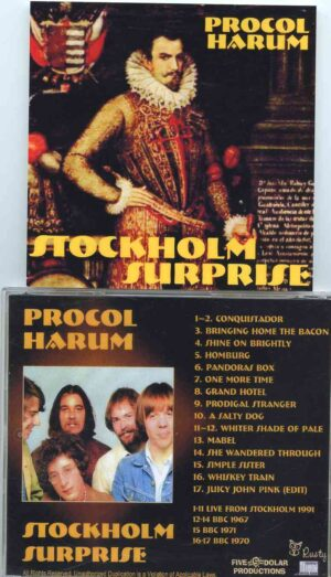 Procol Harum - Stockholm Surprise ( Live From Stockholm 1991 plus Bonustracks BBC 1967 , 1971 & 1970 )