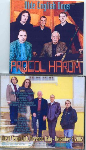 Procol Harum - Olde English Dogs ( 2 CD!!!!! )  ( Live at Tenax Club , Florence , Italy , December 3rd , 2002 )
