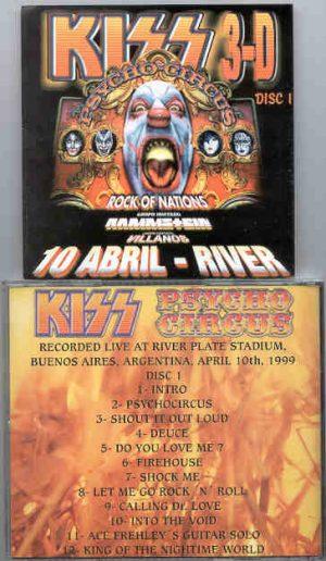 Kiss - Psycho Circus I ( Live at River Plate , Buenos Aires , Argentina , April 10th , 1999 )