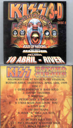 Kiss - Psycho Circus II( Live at River Plate , Buenos Aires , Argentina , April 10th , 1999 )