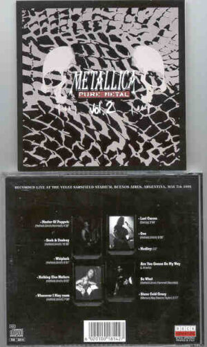 Metallica - Pure Metal ( Live at The Glorious Velez Sarsfield Stadium , Buenos Aires , Argentina ,  May 7th ,  1993 )