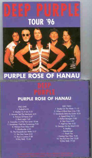 Deep Purple - Purple Rose Of Hanau ( 2 CD!!!!! set )( Live In Hanau , Germany , March 30th , 1996 )
