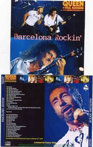 Paul Rodgers - Barcelona Rocking ( with QUEEN ) ( 2 CD!!!!! SET ) ( Palau Saint Jordi , Barcelona , Spain , October 22nd , 2008 )