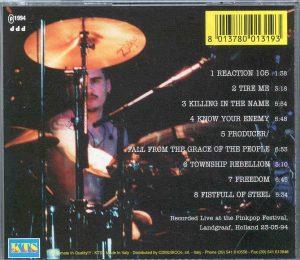 Rage Against The Machine - Bulletproof ( Pinkpop Festival , Landgraaf , Holland , May 25th , 1994 ) ( KTS )