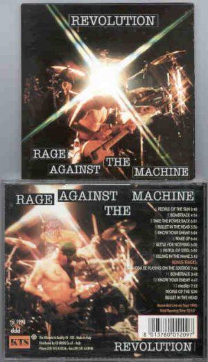 Rage Against The Machine - Revolution  ( Live On Tour 1973 )  ( KTS )