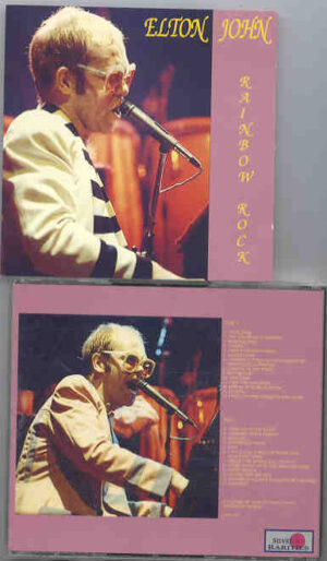 Elton John - Rainbow Rock  ( 2 CD!!!!! set ) ( Silver Rarities ) ( Live 1977 ) Picture