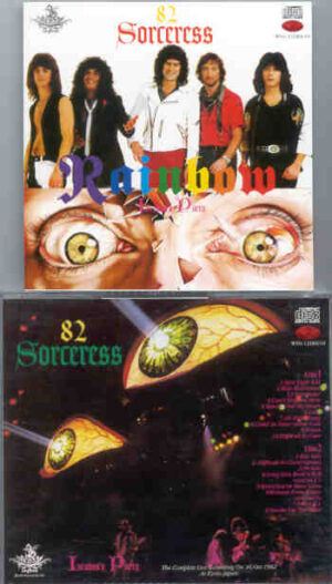 Rainbow - Sorceress 82 Incubus's Party ( 2 CD!!!!! SET ) ( Complete Kyoto , Japan , October 16th , 1982 )