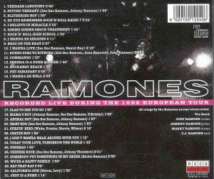 Ramones - Europe 1992 ( The Best of the 1992 European Tour )