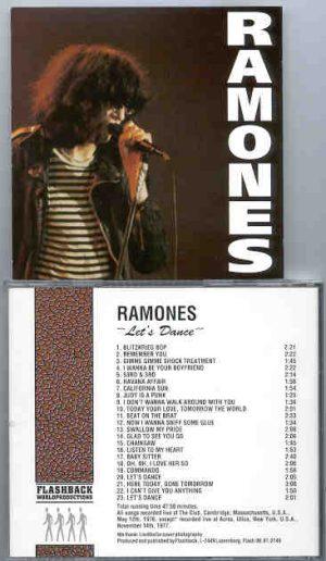 Ramones - Let's Dance ( Live at The Club , Cambridge , Massachusetts , USA , 1976 ) ( Flashback )