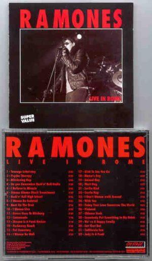 Ramones - Live In Rome 1994 ( On Stage Recs )