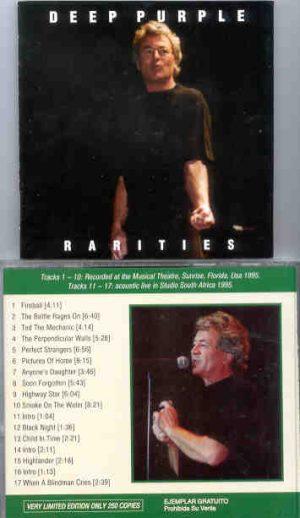 Deep Purple - Rarities ( Sunrise , Florida 1995 + Acoustic in South Africa 1995 )
