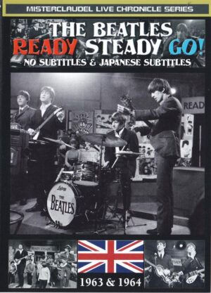 DVD The Beatles - Ready Steady Go ! ( Misterclaudel )