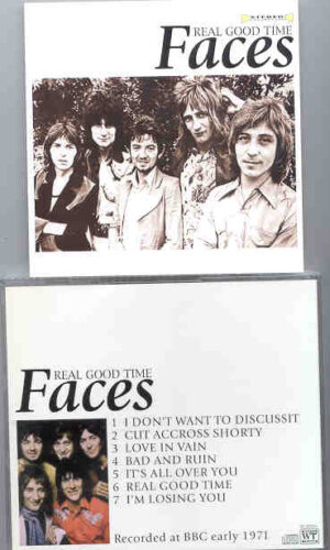 The Face / Rod Stewart - Real Good Time ( Recorded at The BBC , Early 1971 )