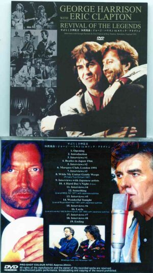 DVD George Harrison - Revival Of The Legends ( With Eric Clapton )