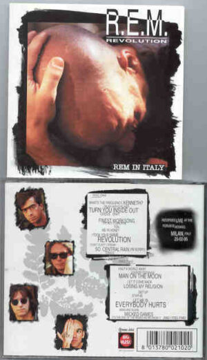 R.E.M. - Revolution  ( Milan , Italy , February 25th , 1995 ) ( 2 CD!!!!! set ) ( Big Music )