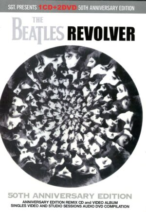 The Beatles - Revolver 50th Anniversary Edition ( 1 CD - 2 DVD SET ) ( 2016 SGT Records )