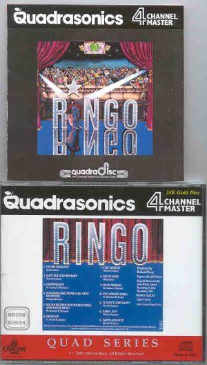Ringo Starr - R.I.N.G.O. Quadraphonic ( Odeon Quadraphonics )