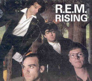 R.E.M. - Rising  ( Red Robin Records )