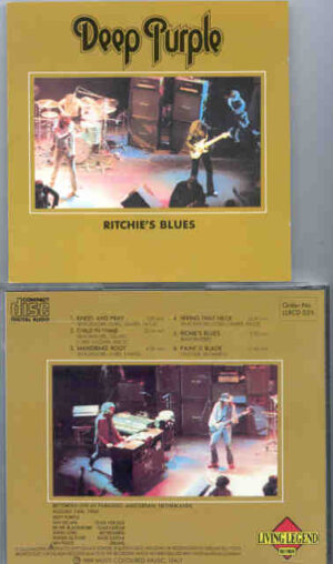 Deep Purple - Ritchie's Blues ( Living Legend ) ( Paradiso , Amsterdam , Netherlands , August 24th 1969 )