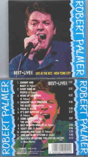 Robert Palmer - Live At The Ritz