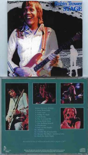 Robin Trower - Stage  ( Live at Shibuya Kokaido , Tokyo , Japan , January 28th , 1977 )