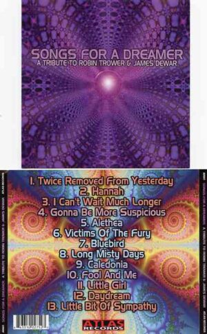 Robin Trower - Songs For A Dreamer ( Sal Iacobucci - Roy Thomas - Ken Punt & Jeff Pitchell )